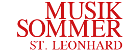 Musiksommer St. Leonhard Logo