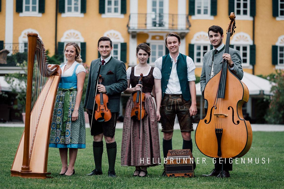 Musik Sommer St. Leonhard 2019 Hellbrunner Geigenmusi