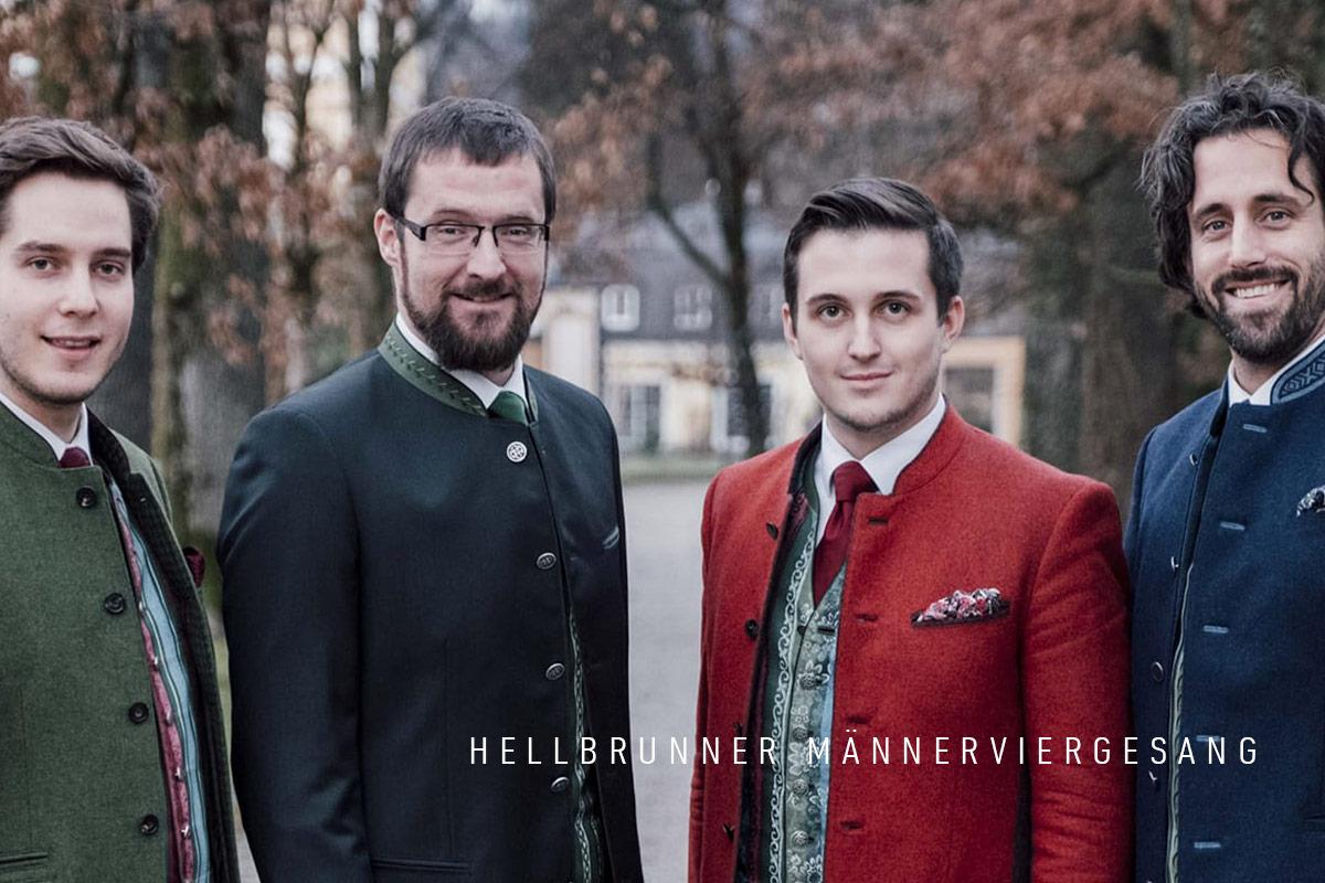 Musik Sommer St. Leonhard 2019 Hellbrunner Maennerviergesang