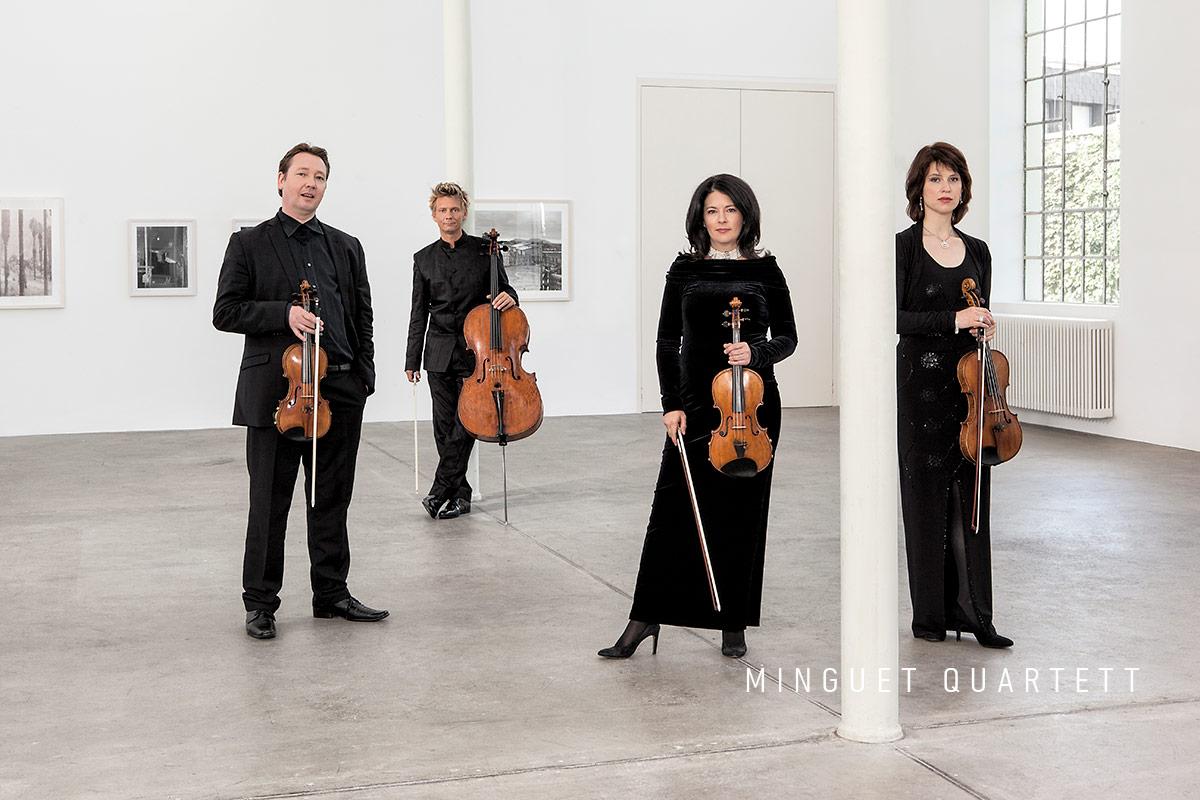 Musik Sommer St. Leonhard 2019 Minguet Quartett by Frank Rossbach
