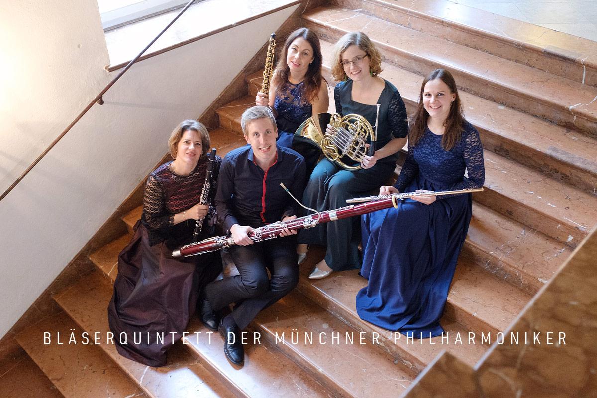 Musik Sommer St. Leonhard 2019 - Bläserquintett der Münchner Philharmoniker